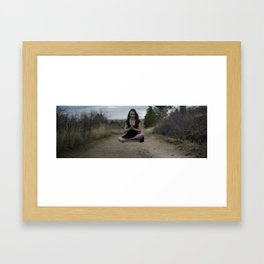 Namaste.  Framed Art Print