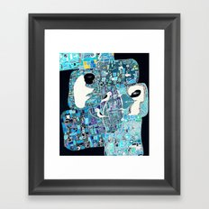the walls must fall Framed Art Print