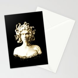 Gold Medusa Stationery Cards