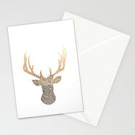 GOLD DEER Stationery Cards