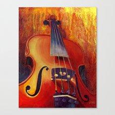 Fit as a Violin #3 Canvas Print