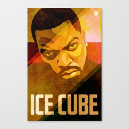Ice Cube Canvas Print