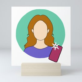 Gina Linetti Mini Art Print