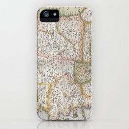 Turkey Map - Mercator - 1584 iPhone Case