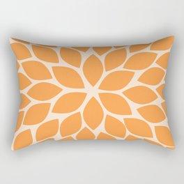 Sherbet Chrysanthemum Rectangular Pillow