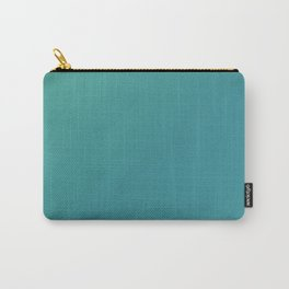 Teal Blends Design Carry-All Pouch