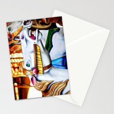 Merry Go Round Horse Stationery Cards