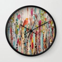 letting go Wall Clock