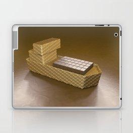 Chocolate Ship - 3D Art Laptop & iPad Skin