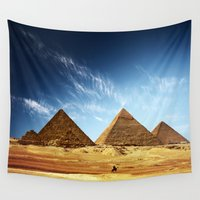 playstation Wall Tapestries featuring Egypt by eARTh