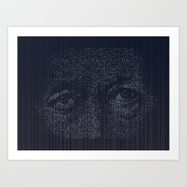 Leviathan: Jonah in the Belly of the Fish Art Print
