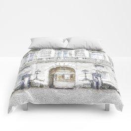 Buckingham Palace Snow Comforters
