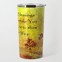 Blessings over You Travel Mug
