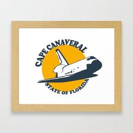 Cape Canaveral - Florida. Framed Art Print