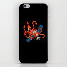 Squid vs Satellite iPhone & iPod Skin