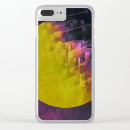 TRAPPIST Connection III Clear iPhone Case