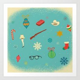 Christmas Story Art Print