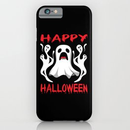 Ghost Hunt Ghostbusters Halloween Ghost iPhone Case