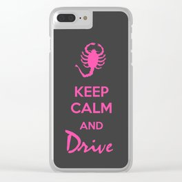 Keep Calm - Drive Clear iPhone Case