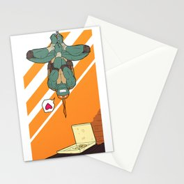 TMNT Michelangelo - Pizza! Stationery Cards
