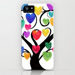 Tree of Hearts iPhone Case