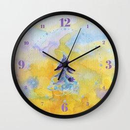 Joy Overflowing Wall Clock
