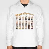 the grand budapest hotel Hoodies featuring THE GRAND BUDAPEST HOTEL by Kaitlin Smith
