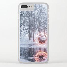 Q2x Clear iPhone Case