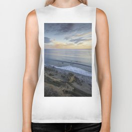 Ocean View from the Beach Biker Tank