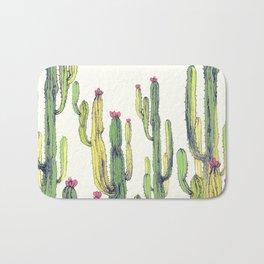 vertical cactus Bath Mat