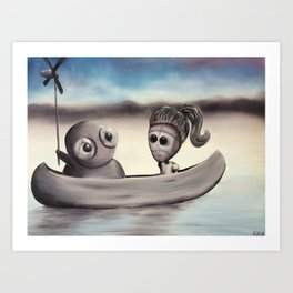 I Wanted to Take You On A Boat Ride But My Arms Are Too Nubbly to Row So I Invented This Art Print