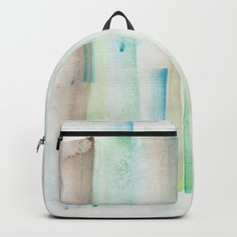180713 Watercolor Play 1| Watercolor Brush Strokes Backpack
