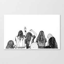 Headbangers Canvas Print
