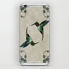 The Humming birds iPhone Skin