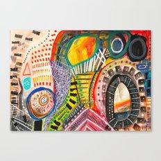The Scream 2017 Canvas Print