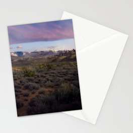 Dusk at Arches National Park Moab, UT Stationery Cards