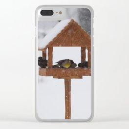 Helping birds Clear iPhone Case