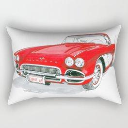 61 Corvette Rectangular Pillow