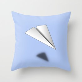 Paper Airplane 12 Throw Pillow