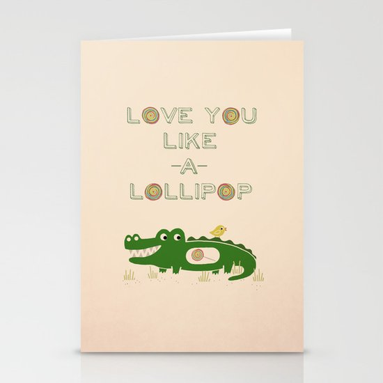 Like A Lollipop Stationery Cards