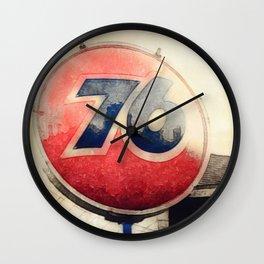 76 Memories Wall Clock