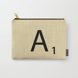 Scrabble Piece A1 Carry-All Pouch