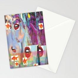 La Lip-Face Stationery Cards