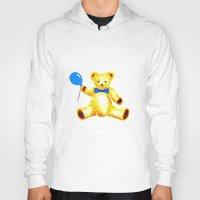 teddy bear Hoodies featuring Teddy Bear by Artisimo (Keith Bond)