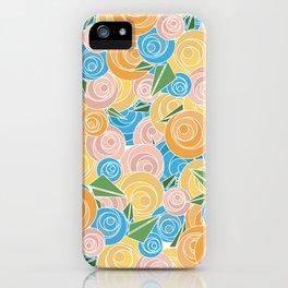 Pastel Floral iPhone Case
