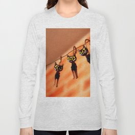 Cocktail cats Long Sleeve T-shirt