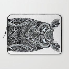 Fancy Great Horned Owl Laptop Sleeve