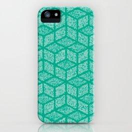 Kenna (Green) iPhone Case