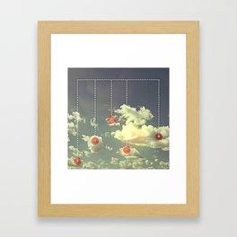 Núvols (iPhone Created) Framed Art Print