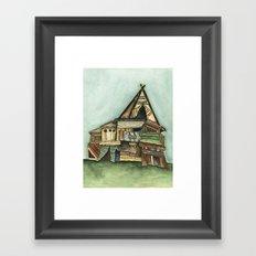 TePee Fort Framed Art Print